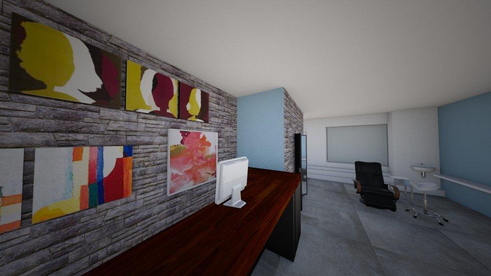 o2style agencement studio massage