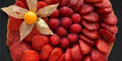 o2style teillon tarte fraises